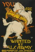 Vintage WW1 San Francisco Recruiting Poster
